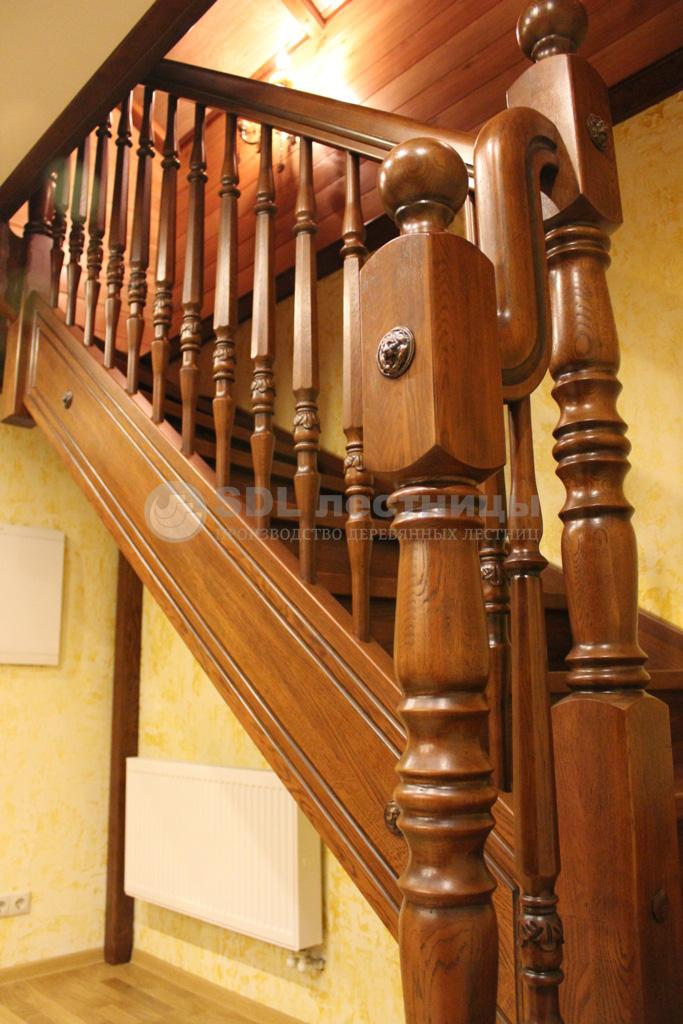 лестницы фото деревянные