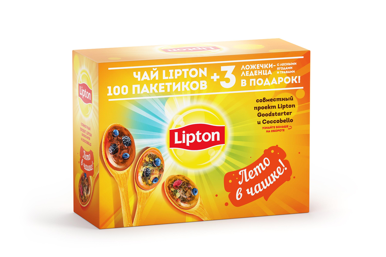 липтон карамельный чай