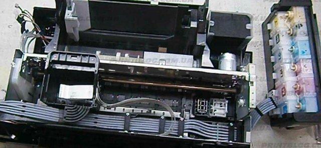Как работает струйный принтер