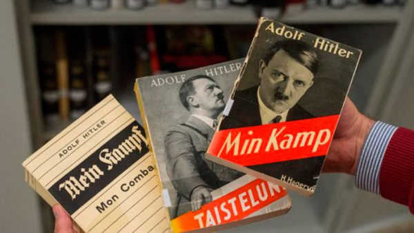 Книга Адольфа Гитлера 'Майн Кампф' стала бестселлером в Германии