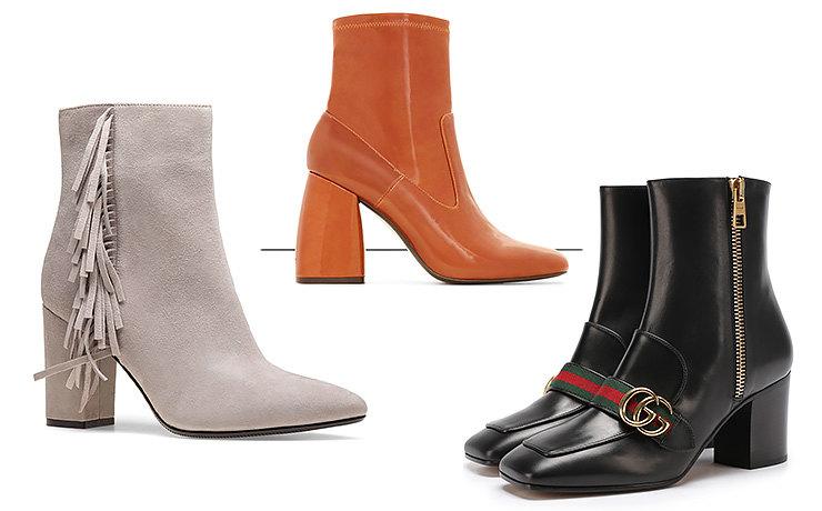 Тренды осени-2017: выбираем обувь