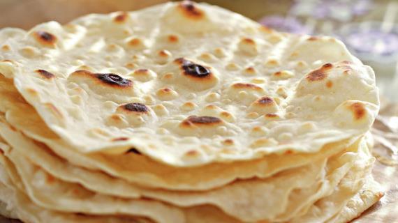 Чапати - простые индийские лепешки