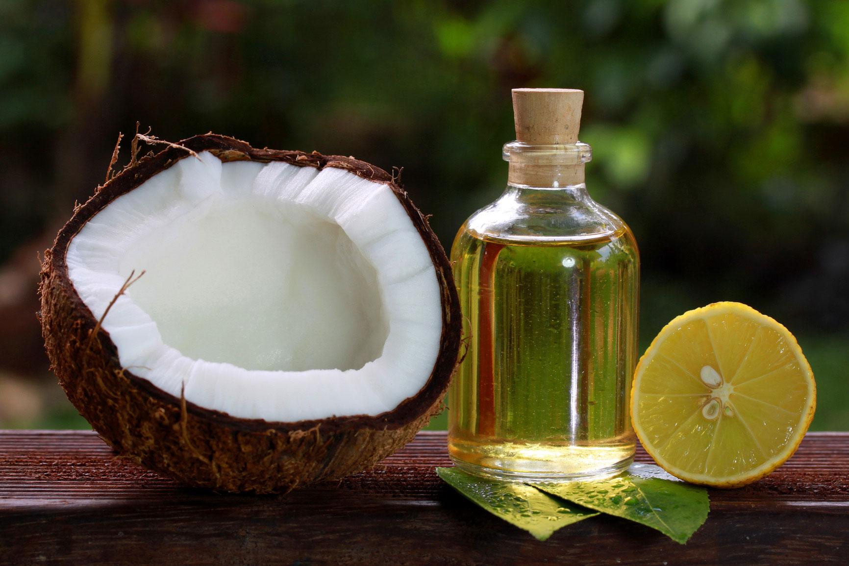 Косметические средства из кокосового масла