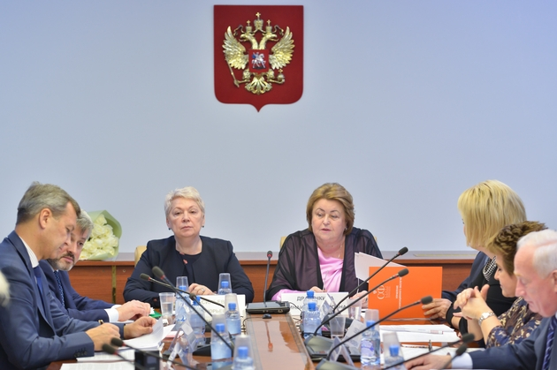 Глава министерство по образованию и науке России приняла участие в совещании отдела Совета Федерации по науке, образованию