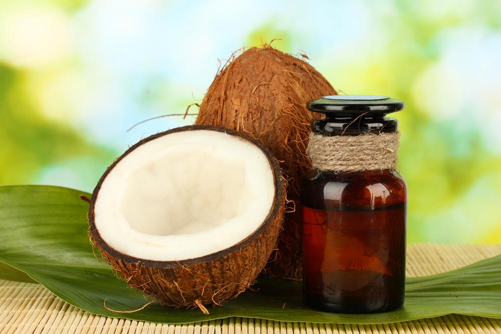 Кокосовое масло - прекрасная и натуральная замена крему
