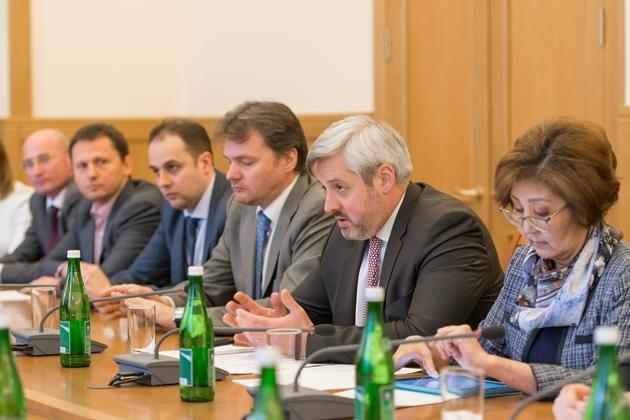 В министерство по образованию и науке России прошло совещаение с членами Всемирного координационного совета российских соот