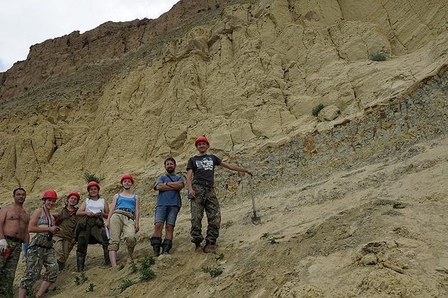 В Красноярском крае снова обнаружены кости мамонтов и динозавров