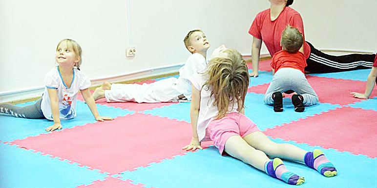 Кунг-фу, детский фитнес