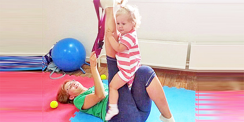 "Фитнес ""Мама + малыш"""