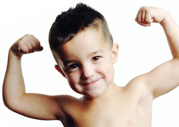 Крепкое здоровье у детей
