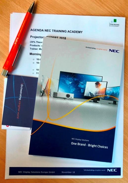 Академия NEC в Мюнхене снова открыла свои двери рос