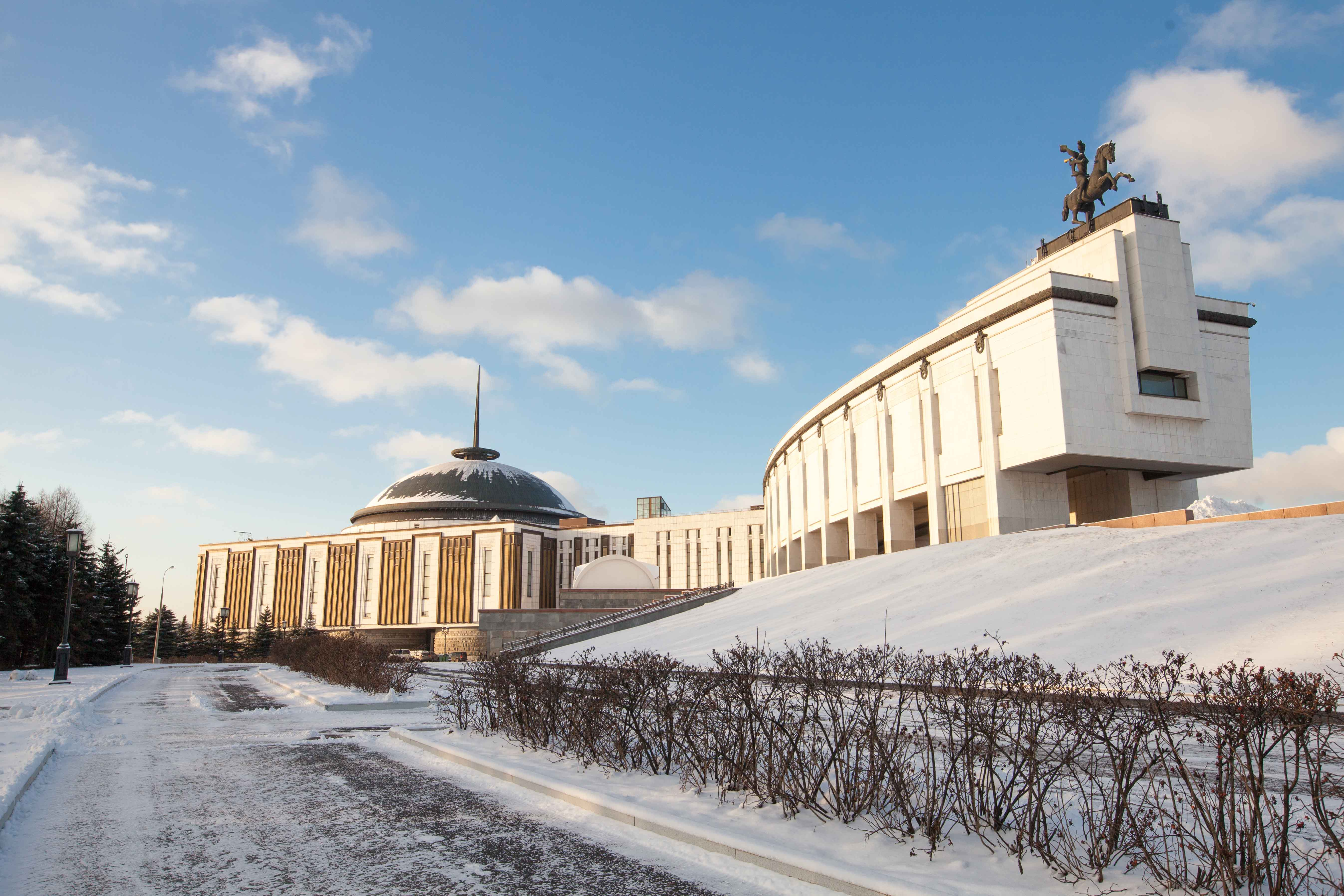 Более 35 тысяч людей посетили Музей Победы в новогодние праздники