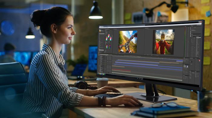 ViewSonic представляет линейку профессиональных мониторов ColorPro? с высокой точностью цветопередачи и но