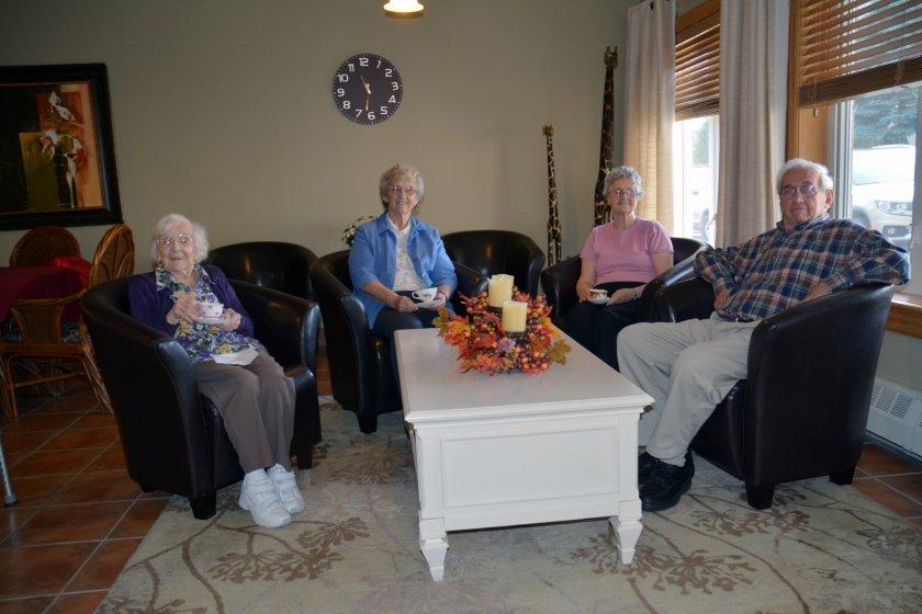 частный дом для пожилых