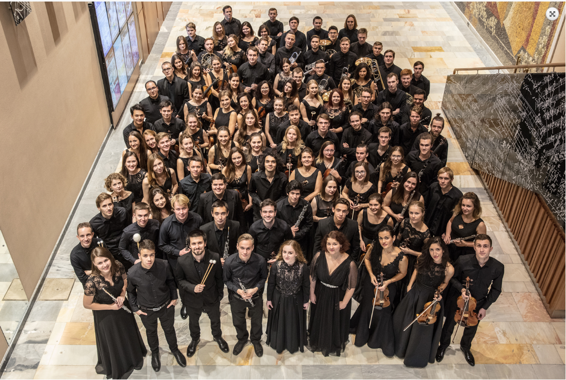 Российский национальный молодежный симфонические оркестр выступит с концертами в Республике Беларусь