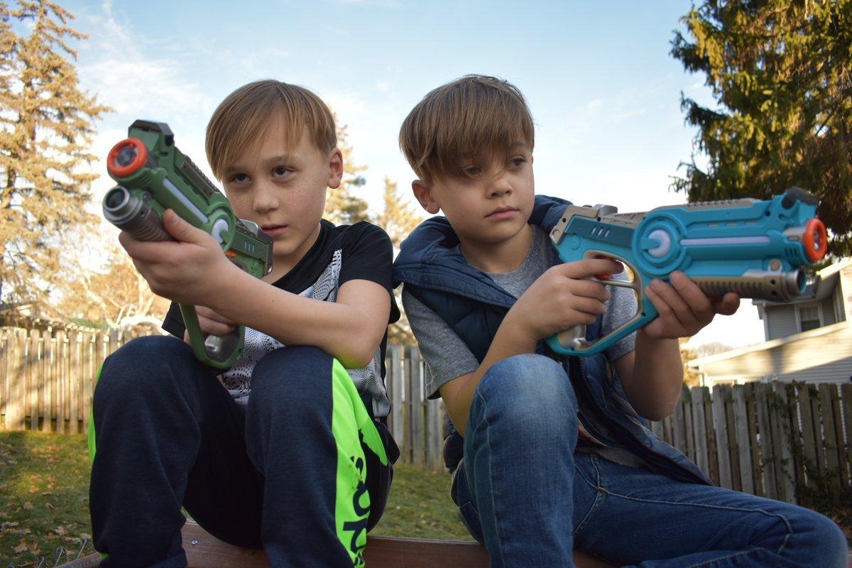 Набор детского лазертаг или домашний пейнтбол