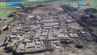 В Крыму обнаружены остатки крупной античной усадьбы