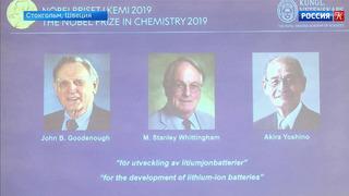 Нобелевскую премию по химии присудили за разработку литий-ионных батарей