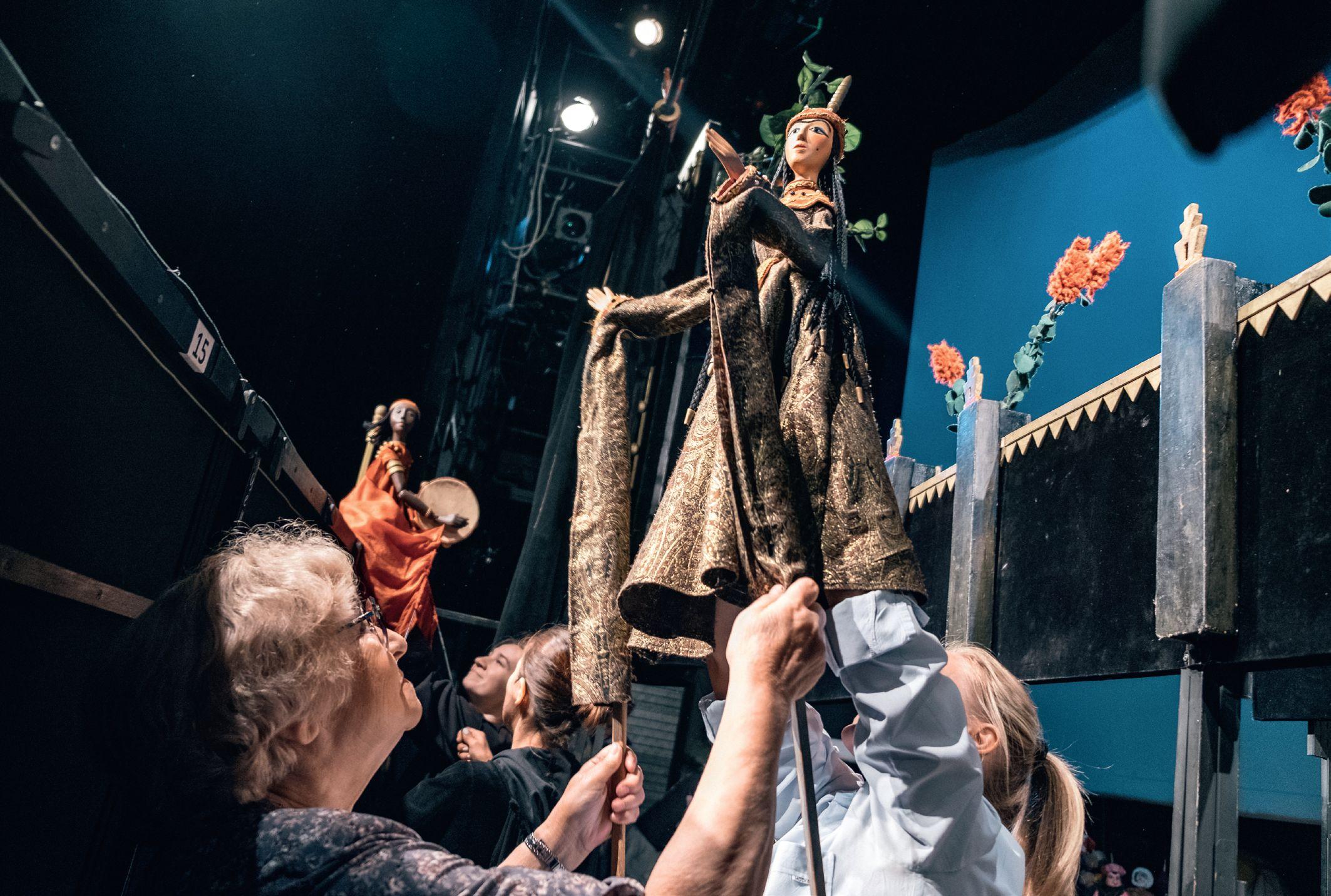 Театр марионеток имени Е. С. Деммени и Гродненский Театр кукол проводят обменные гастроли