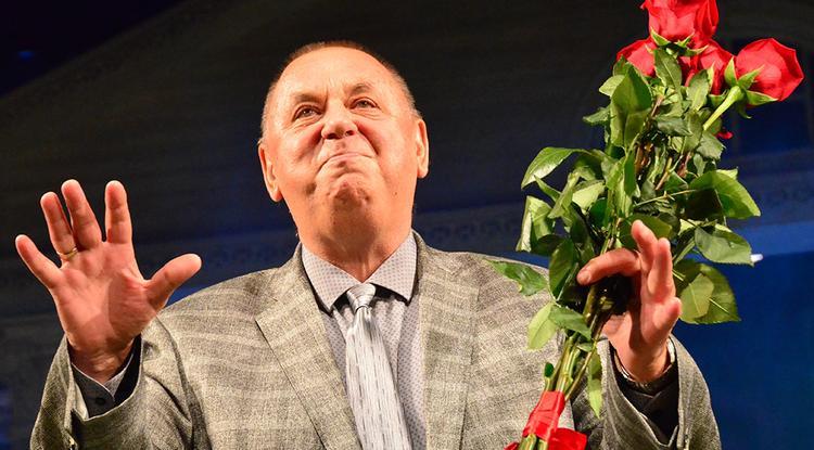 Владимир Мединский засвидетельствовал свое почтение с юбилеем народного артиста России Бориса Морозова