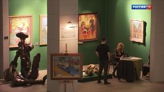Российский антикварный салон открылся в Гостином дворе