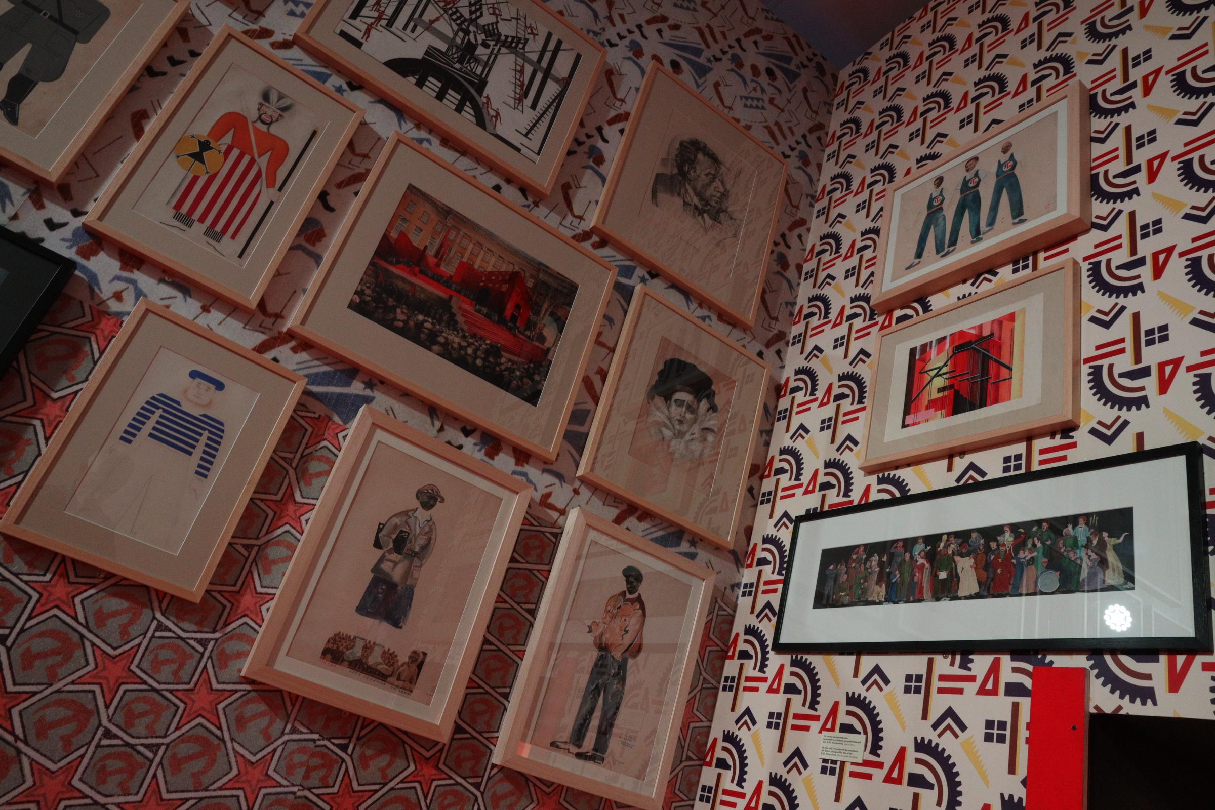 """Экспозицию """" Театр. RUS """" Бахрушинского музея посетили 30 тыс. Человек"""