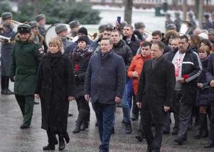 В День Неизвестного солдата Владимир Мединский и Сергей Иванов почтили павших в боях за Родину