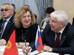 Ольга Епифанова уточнила конструктивный характер сотрудничества парламентов России и Киргизии