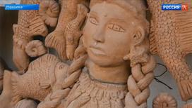 В Мексике можно увидеть выставку работ потерявшего зрение скульптора Хосе Гарсия Антонио