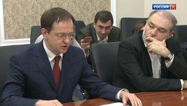 Владимир Мединский встретился с руководителями лидирующих отечественных кинокомпаний