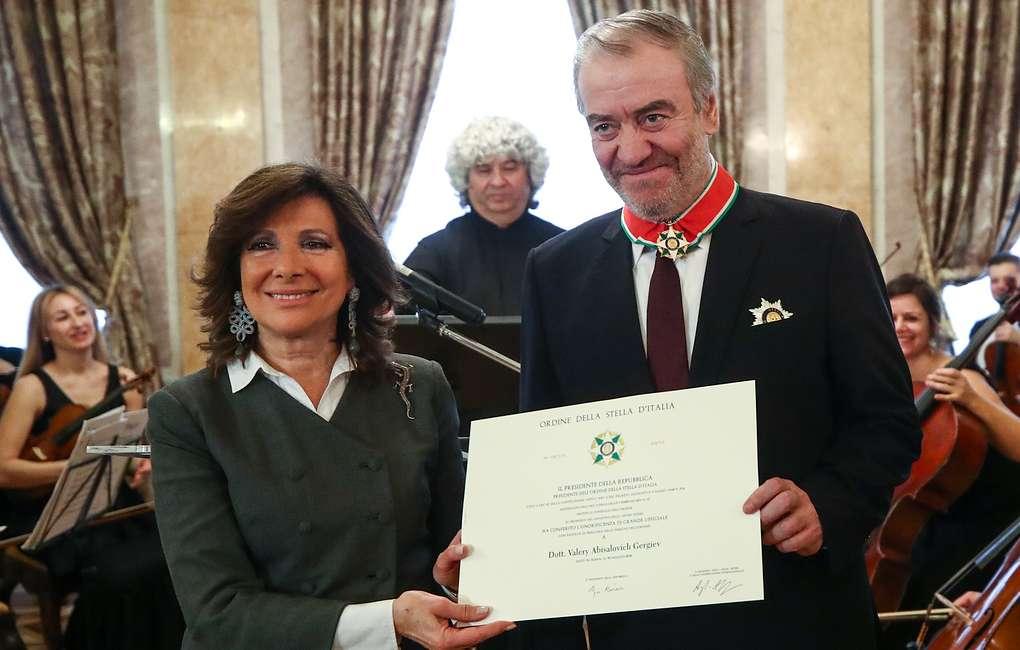 Валерию Гергиеву вручили орден Звезды Италии