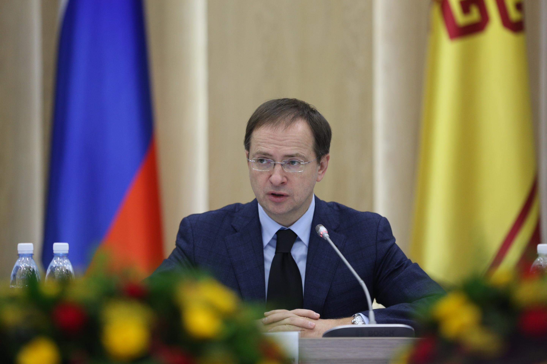 Владимир Мединский внес инициативу включить Чувашскую Республику в программу детского культурного туризма