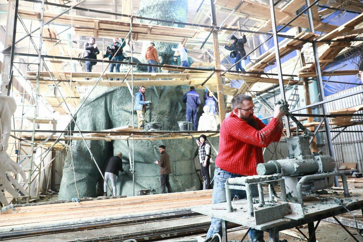 Граждане России выберут вариант оформления площадки Ржевского мемориала Советскому солдату