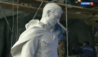 Продолжается работа над центральной фигурой будущего Ржевского мемориала