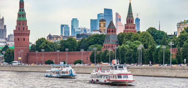 снять теплоход в Москве