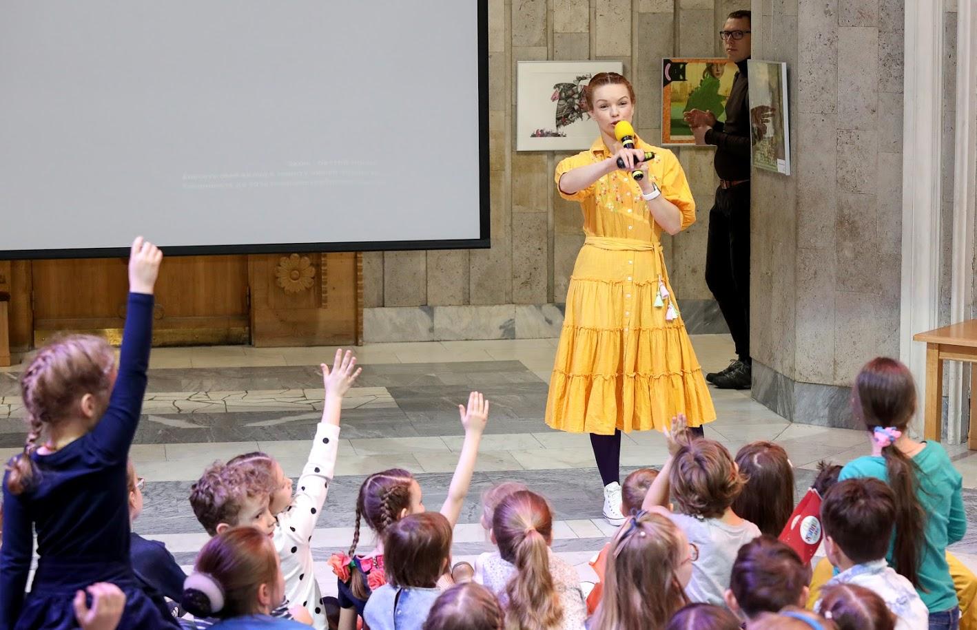 """События """" Библионочи """" в Российской государственной детской библиотеке посетили 2 пятьсот человек"""