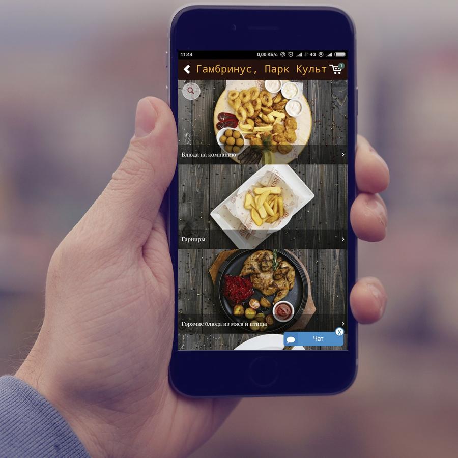 Приложения для фотографий еды