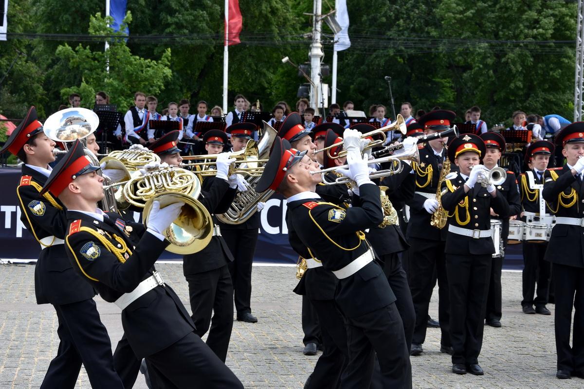 Интернациональный состязание исполнителей на духовых и ударных инструментах, а также детских духовых оркест