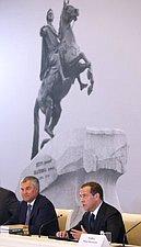 Руководитель ГД принял участие в обговаривании подготовки и проведения празднования 350-летия со дня ро