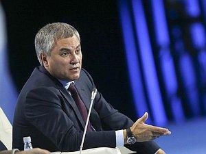 Вячеслав Володин проведет совещание 56-й сессии Парламентского Собрания Союза Беларуси и России в Ми