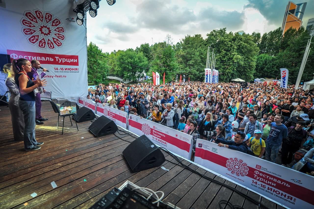 Третий фестиваль Турции посетили более 160 000 человек