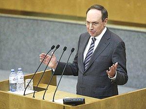 Вячеслав Никонов: уровень образования в РФ - во многом заслуга людей, которые работают в этой сф