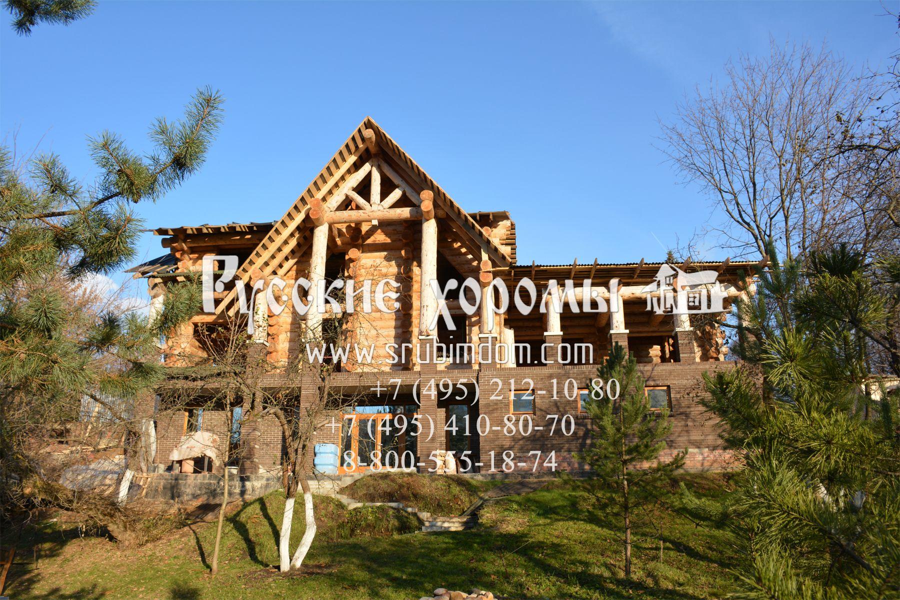 Деревянные дома под ключ - цены от Русских Хором