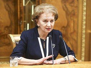 Руководитель Парламента Молдавии выступила на пленарном совещании Государственной Думы