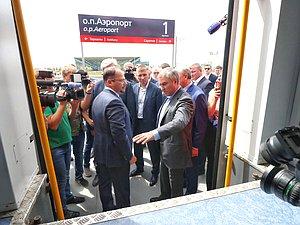 Вячеслав Володин: пассажиры нового аэропорта в Саратове обязаны получить возможность ехать до не