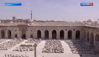 В Алеппо восстанавливают Великую мечеть