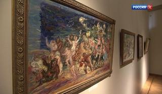 Пушкинскому музею передали в дар работы живописца Сергея Романовича
