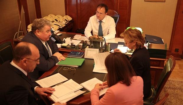 Владимир Мединский согласовал с Главой Мордовии возведение новых ДК и разработку культурно-туристическ