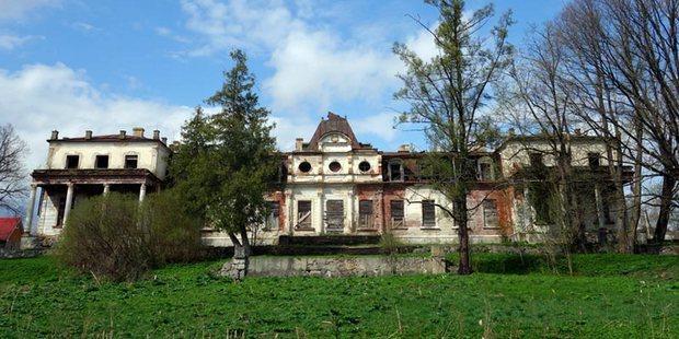 Волонтеры из Петербурга и Мурманска начали восстанавливать под Псковом усадьбу XVIII века