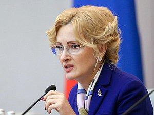 Ирина Яровая: поддержка семей с детьми - приоритет государственной политики России
